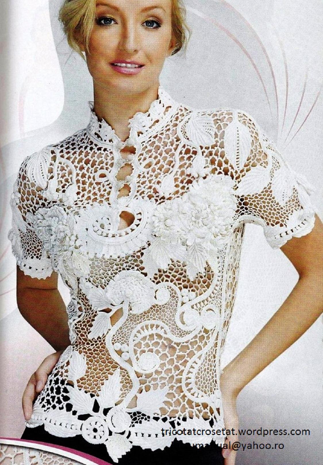 haine, accesorii, decoratiuni interior tricotate sau crosetate manual